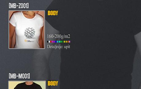 Majice Body