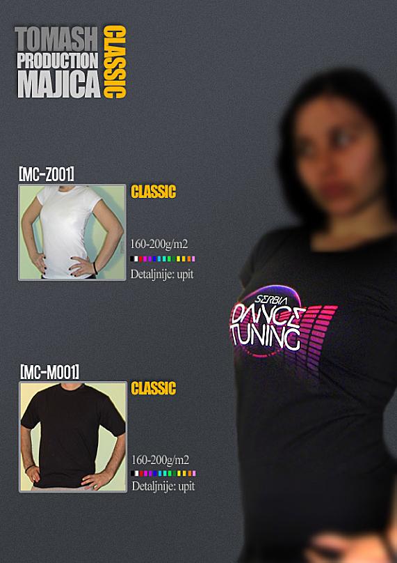 Majice Classic