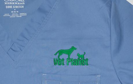 vez na veterinarskoj uniformi