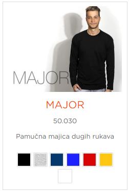Muska majica Major Model