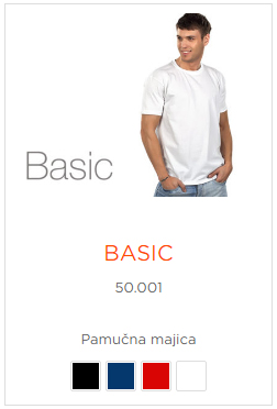 Unisex Majice Model