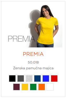 Zenska majica Premia model