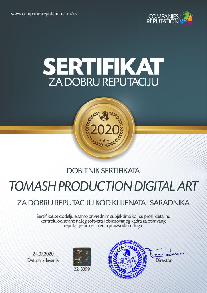 TOMASH PRODUCTION DIGITAL ART